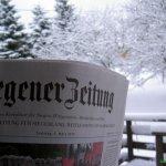 Wintereinbruch am 06.März 2010