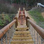 Brücke zur Rutsche