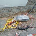 Neue Kabel für das Breitband-Telefon-Netz