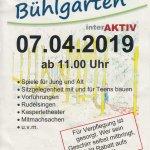 Die Einladung zum Bühlgartenfest
