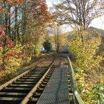 Die noch erhaltene Bahnlinie verbindet dei beiden IRLE-Werke